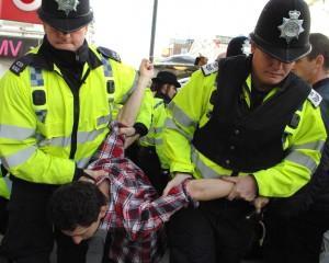 Autistic man arrested